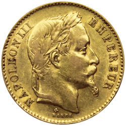 20 francs Napoléon or avers