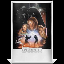 Poster en argent Star Wars...