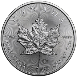 Maple Leaf 1 once en argent 2020