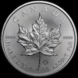 Maple Leaf 1 once en argent 2020