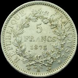 5 francs Ecu argent