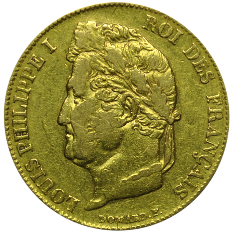 Louis Philippe 20 francs or